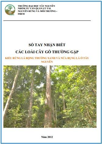 Sổ tay nhận biết các loài cây gỗ thường gặp